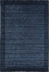Handloom Frame - Tummansininen Matto 200X300 Moderni Tummansininen/Sininen (Villa, Intia)