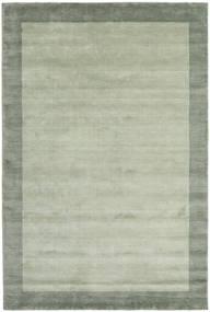 Handloom Frame - Harmaa/Vihreä Matto 300X400 Moderni Vaaleanvihreä/Pastellinvihreä Isot (Villa, Intia)