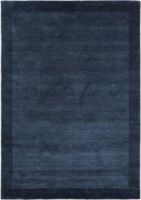 Handloom Frame - Tummansininen Matto 160X230 Moderni Tummansininen (Villa, Intia)