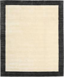 Handloom Frame - Musta/Valkoinen Matto 250X300 Moderni Beige/Tummanharmaa Isot (Villa, Intia)