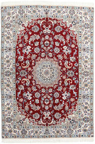 Nain 9La Matto 140X205 Itämainen Käsinsolmittu (Villa/Silkki, Persia/Iran)