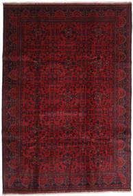 Afghan Khal Mohammadi Matto 203X292 Itämainen Käsinsolmittu Tummanpunainen/Punainen (Villa, Afganistan)