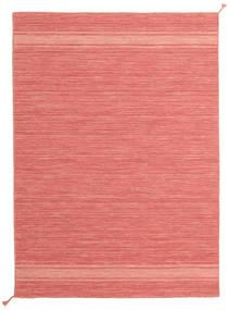 Ernst - Coral/Light_Coral Matto 140X200 Moderni Käsinkudottu Vaaleanpunainen/Punainen (Villa, Intia)
