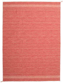 Ernst - Coral/Light_Coral Matto 200X300 Moderni Käsinkudottu Punainen/Vaaleanpunainen/Ruoste (Villa, Intia)