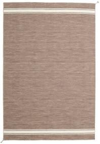 Ernst - Vaaleanruskea/Valkea Matto 200X300 Moderni Käsinkudottu Vaaleanharmaa (Villa, Intia)