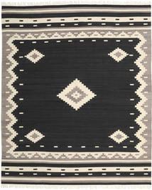 Tribal - Musta Matto 250X300 Moderni Käsinkudottu Musta/Beige Isot (Villa, Intia)