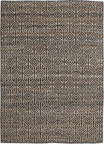 Tilly Jute Matto 160X230 Moderni Käsinkudottu Tummanharmaa/Vaaleanharmaa ( Intia)