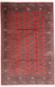 Pakistan Bokhara 3Ply Matto 200X312 Itämainen Käsinsolmittu Tummanpunainen/Tummanruskea (Villa, Pakistan)