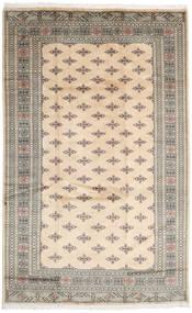 Pakistan Bokhara 3Ply Matto 197X313 Itämainen Käsinsolmittu Beige/Vaaleanharmaa (Villa, Pakistan)