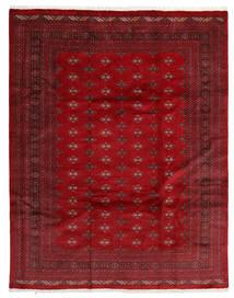 Pakistan Bokhara 3Ply Matto 241X306 Itämainen Käsinsolmittu Tummanpunainen/Punainen (Villa, Pakistan)