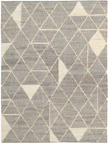 Berber Jute Matto 160X230 Moderni Käsinkudottu Vaaleanharmaa/Beige ( Intia)