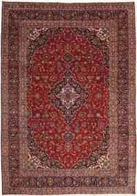 Keshan Matto 244X349 Itämainen Käsinsolmittu Tummanpunainen/Vaaleanruskea (Villa, Persia/Iran)