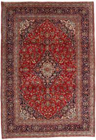 Keshan Matto 246X353 Itämainen Käsinsolmittu Tummanpunainen/Tummanruskea (Villa, Persia/Iran)