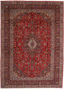 Keshan Matto 297X410 Itämainen Käsinsolmittu Tummanpunainen/Tummanharmaa Isot (Villa, Persia/Iran)