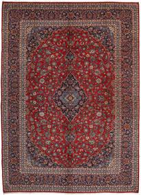 Keshan Matto 297X407 Itämainen Käsinsolmittu Tummanpunainen/Ruskea Isot (Villa, Persia/Iran)
