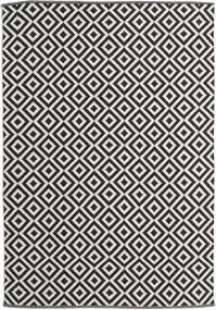 Torun - Musta/Neutral Matto 170X240 Moderni Käsinkudottu Musta/Tummanbeige (Puuvilla, Intia)