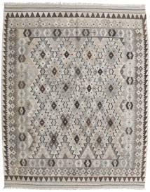Kelim Afghan Old Style Matto 155X193 Itämainen Käsinkudottu (Villa, Afganistan)