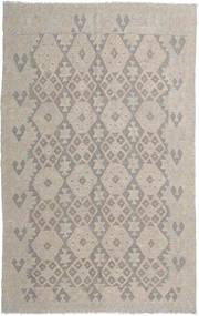 Kelim Afghan Old Style Matto 156X248 Itämainen Käsinkudottu Vaaleanharmaa (Villa, Afganistan)