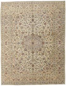 Keshan Matto 296X386 Itämainen Käsinsolmittu Vaaleanharmaa/Beige Isot (Villa, Persia/Iran)