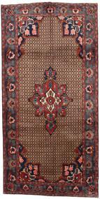 Koliai Matto 145X287 Itämainen Käsinsolmittu Käytävämatto Tummanruskea/Tummanpunainen (Villa, Persia/Iran)