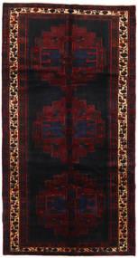 Saveh Matto 152X288 Itämainen Käsinsolmittu Käytävämatto Tummanpunainen (Villa, Persia/Iran)