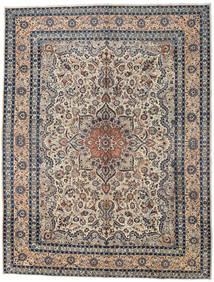 Kashmar Matto 296X386 Itämainen Käsinsolmittu Vaaleanharmaa/Musta Isot (Villa, Persia/Iran)