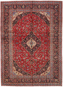 Keshan Matto 282X396 Itämainen Käsinsolmittu Tummanpunainen/Ruoste Isot (Villa, Persia/Iran)