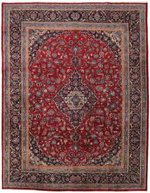 Mashad Matto 296X383 Itämainen Käsinsolmittu Tummanpunainen/Tummanharmaa Isot (Villa, Persia/Iran)