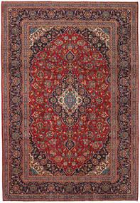 Keshan Matto 241X349 Itämainen Käsinsolmittu Tummanpunainen/Tummanruskea (Villa, Persia/Iran)
