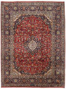 Keshan Matto 251X338 Itämainen Käsinsolmittu Tummanpunainen/Tummanruskea Isot (Villa, Persia/Iran)