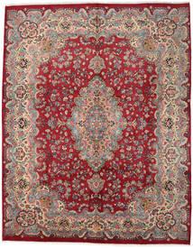 Mashad Matto 294X374 Itämainen Käsinsolmittu Tummanpunainen/Punainen Isot (Villa, Persia/Iran)
