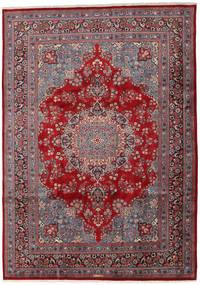 Mashad Matto 243X341 Itämainen Käsinsolmittu Tummanruskea/Tummanpunainen (Villa, Persia/Iran)