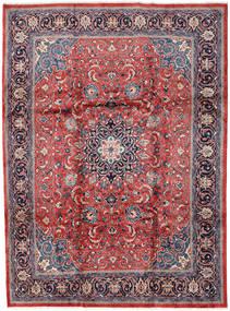 Mahal Matto 246X330 Itämainen Käsinsolmittu Vaaleanharmaa/Tummanpunainen (Villa, Persia/Iran)