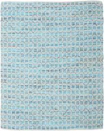 Elna - Bright_Blue Matto 250X300 Moderni Käsinkudottu Vaaleansininen/Vaaleanharmaa Isot (Puuvilla, Intia)