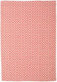 Torun - Coral/Neutral Matto 200X300 Moderni Käsinkudottu Punainen/Vaaleanpunainen/Beige (Puuvilla, Intia)