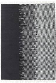 Sixten Matto 170X240 Moderni Käsinkudottu Tummanharmaa/Valkoinen/Creme ( Intia)