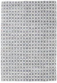 Elna - Harmaa Matto 200X300 Moderni Käsinkudottu Vaaleanharmaa/Valkoinen/Creme (Puuvilla, Intia)