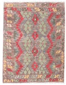 Kelim Afghan Old Style Matto 133X171 Itämainen Käsinkudottu (Villa, Afganistan)