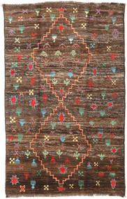 Moroccan Berber - Afghanistan Matto 190X304 Moderni Käsinsolmittu Ruskea/Tummanruskea (Villa, Afganistan)