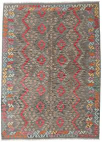 Kelim Afghan Old Style Matto 171X239 Itämainen Käsinkudottu Vaaleanharmaa/Tummanharmaa (Villa, Afganistan)
