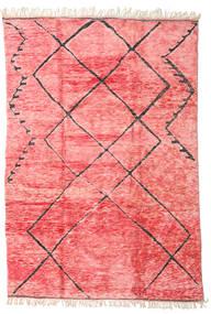 Berber Moroccan - Mid Atlas Matto 240X365 Moderni Käsinsolmittu Vaaleanpunainen/Pinkki (Villa, Marokko)