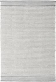 Norma - Musta Matto 160X230 Moderni Käsinkudottu Vaaleanharmaa (Puuvilla, Intia)