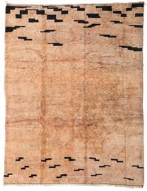 Berber Moroccan - Mid Atlas Matto 303X392 Moderni Käsinsolmittu Vaaleanruskea/Vaaleanpunainen Isot (Villa, Marokko)