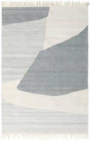 Ulkomatto Ariel Matto 140X200 Moderni Käsinkudottu Vaaleanharmaa/Tummanbeige ( Intia)