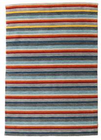 Gabbeh Indo Matto 167X240 Moderni Käsinsolmittu Tummanharmaa/Vaaleanharmaa (Villa, Intia)