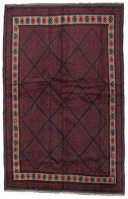 Beluch Matto 150X235 Itämainen Käsinsolmittu Tummanpunainen/Musta (Villa, Afganistan)