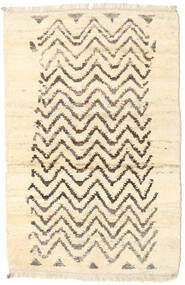 Barchi/Moroccan Berber - Afganistan Matto 116X177 Moderni Käsinsolmittu Beige/Tummanbeige (Villa, Afganistan)