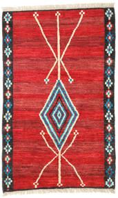 Moroccan Berber - Afghanistan Matto 118X187 Moderni Käsinsolmittu Ruoste/Punainen (Villa, Afganistan)