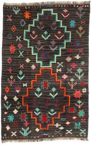 Barchi/Moroccan Berber - Afganistan Matto 198X303 Moderni Käsinsolmittu Musta/Tummanharmaa (Villa, Afganistan)