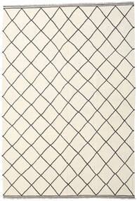 Kelim Ariana Matto 208X298 Moderni Käsinkudottu Beige/Valkoinen/Creme (Villa, Afganistan)